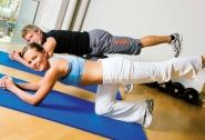 Gymnastikmatten Uni - 1 Stk