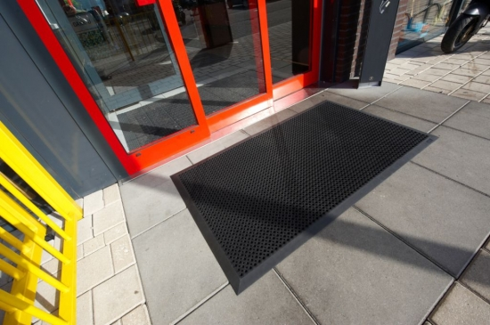 Fußboden Matten Eingangsbereich ~ Mattenportal oct o flex bevelled